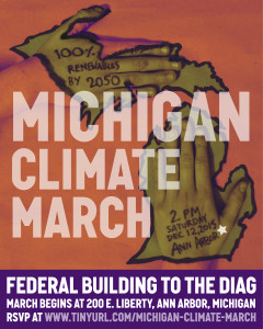 Michigan Climate March